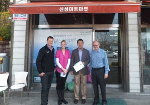 Blair and Jane Meet with NZ Beef importer in South Korea