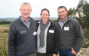 David Ruddenklau, Trudy Boyer and Tony Boyer. Photo: Rob Tipa, NZ Farmer